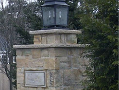 Stone Lantern Placement